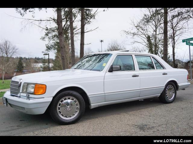 1989 mercedes benz 300 sel 1 owner like new condition for Mercedes benz s500 for sale by owner