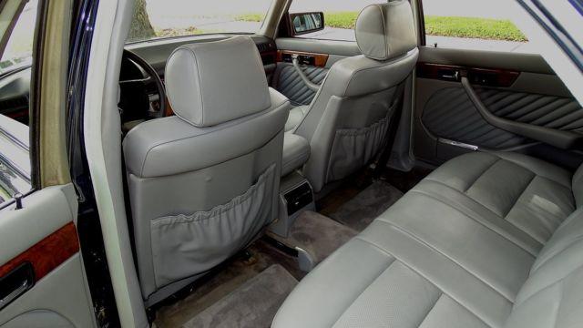 1989 MERCEDES BENZ 560 SEL PREMIUM LUXURY SEDAN FL CAR A MUST SEE TO