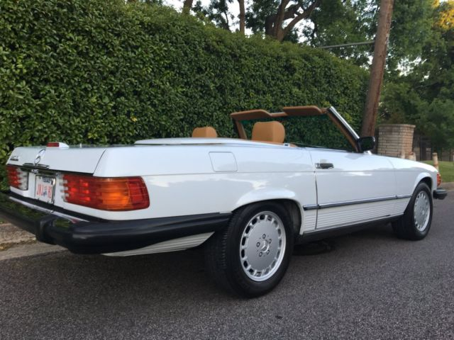 1989 Mercedes Benz 560sl Outstanding 3rd Owner 45k