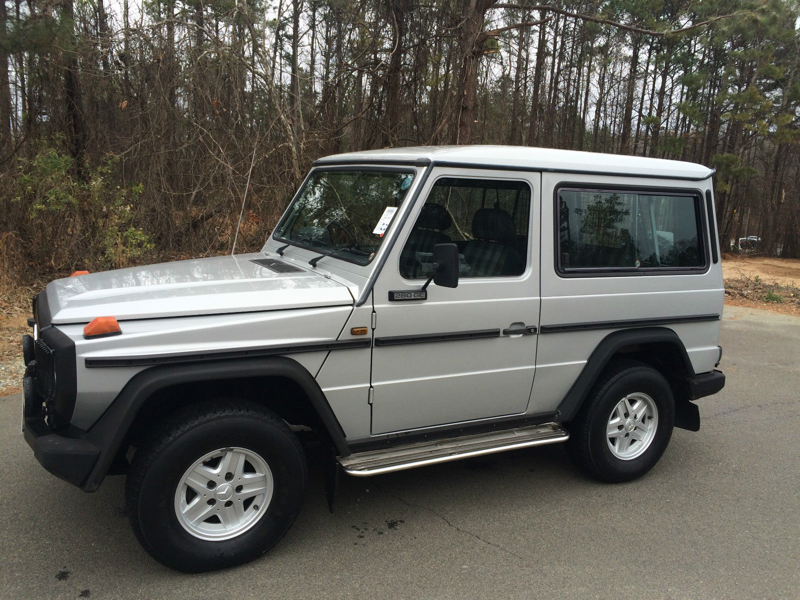 1989 mercedes benz g280 g wagon classic mercedes benz g for Mercedes benz g class pictures