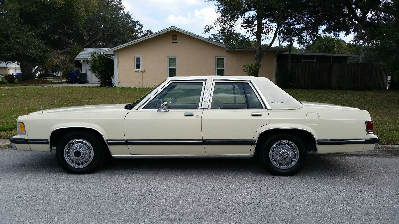 1989 mercury grand marquis gs 96k original miles florida. Black Bedroom Furniture Sets. Home Design Ideas