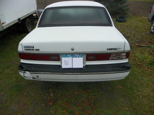 1989 mercury topaz-daily driver 100k original miles - Classic