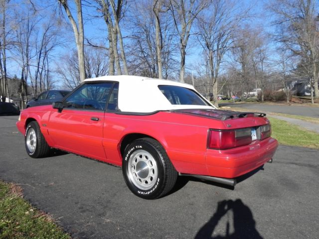 1989 Mustang LX Convertible 5.0 AOD 40,476 Miles - Classic ...