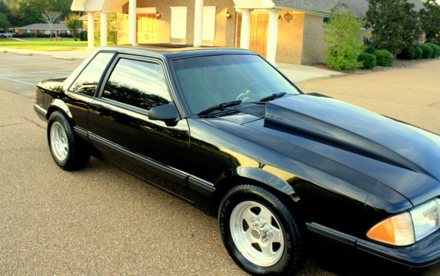 1989 mustang notchback 5 0 lx fox body 347 stroker show quality fresh build w w classic ford. Black Bedroom Furniture Sets. Home Design Ideas