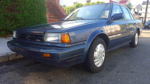 Air For Tires Near Me >> 1989 Nissan Stanza GXE Sedan 4-Door 2.0L (LOW MILES...69K 1 OWNER CLEAN TITLE) - Classic Nissan ...