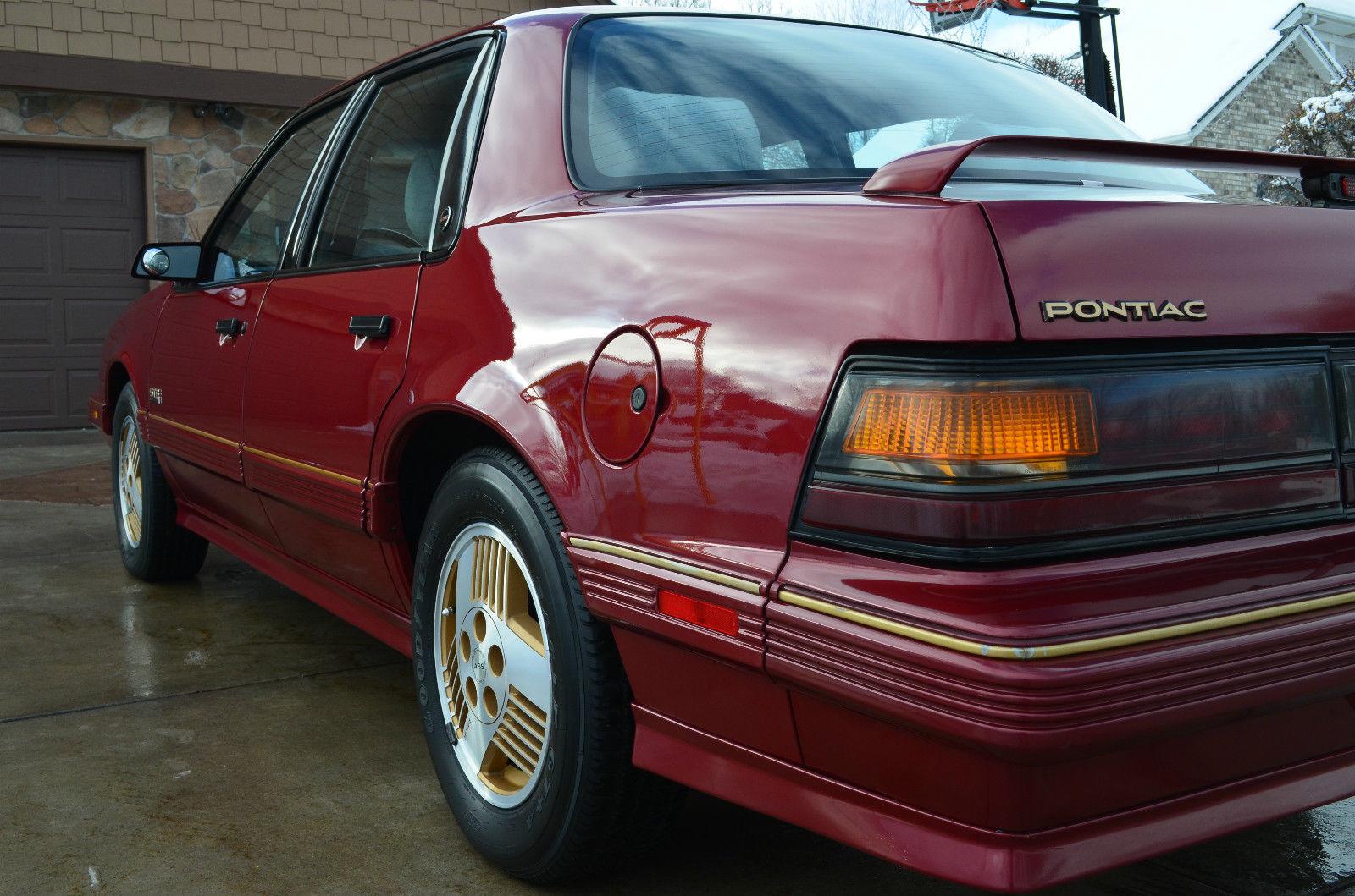 1989 Pontiac 6000 Ste All Wheel Drive Awd Sedan 4 Door 3