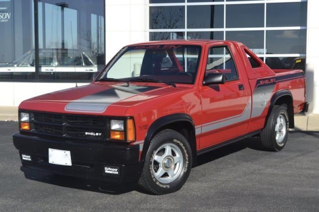 Shelby Dakota Completely Restored Of Red Rare on 89 Dodge Dakota