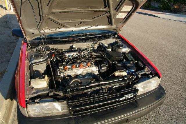 1989 Toyota Corolla Alltrac Wagon Ae95  Auto  Ac  Restored