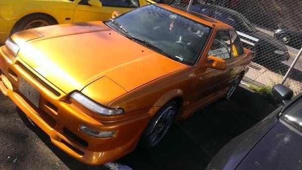 1989 toyota corolla gts trueno body kit manual 5spd body almost supra race trd classic toyota