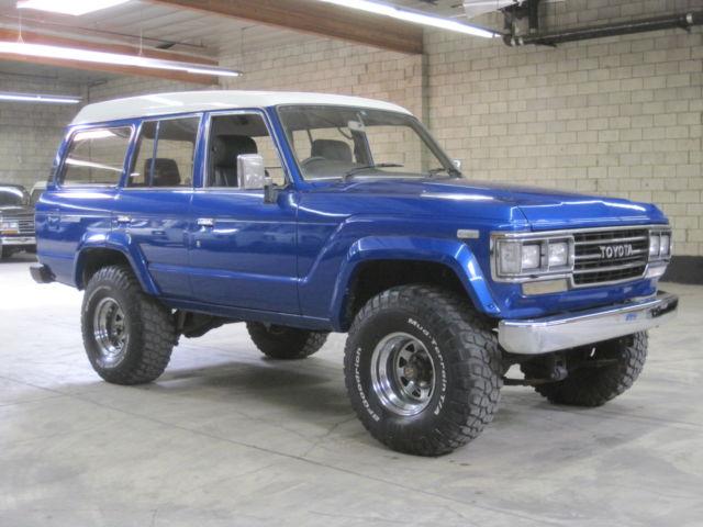 1989 Toyota Landcruiser Hj61 4 0l 12h T Turbo Diesel