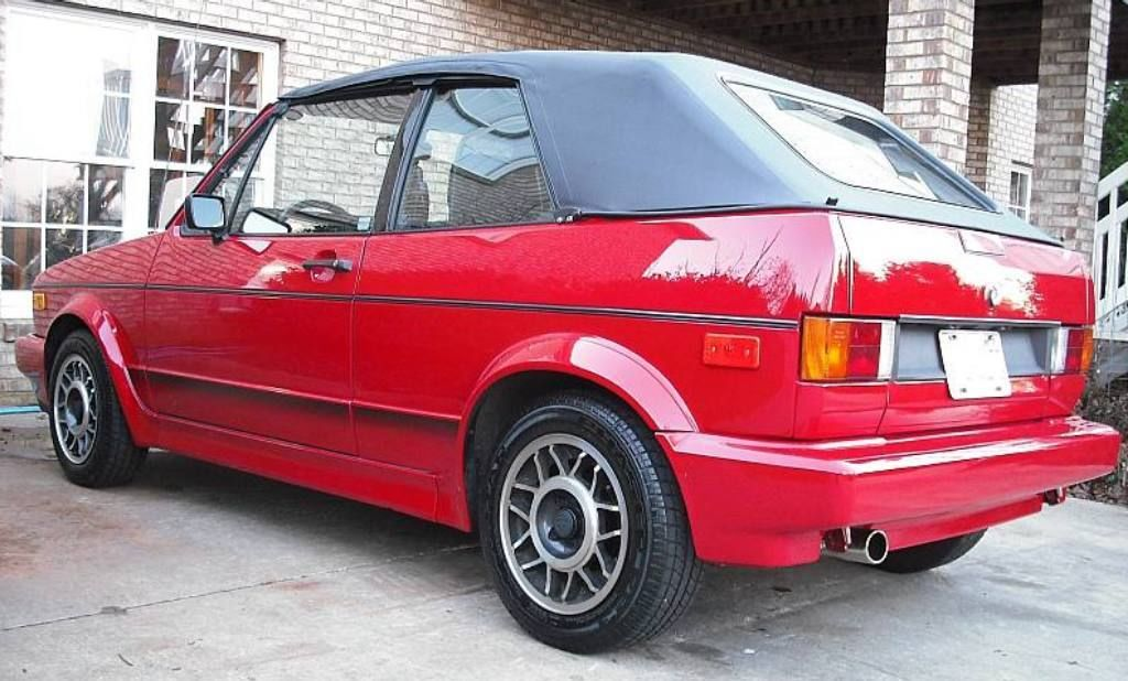 1989 volkswagen vw cabriolet mk1 rabbit golf gti original first owner very nice classic. Black Bedroom Furniture Sets. Home Design Ideas
