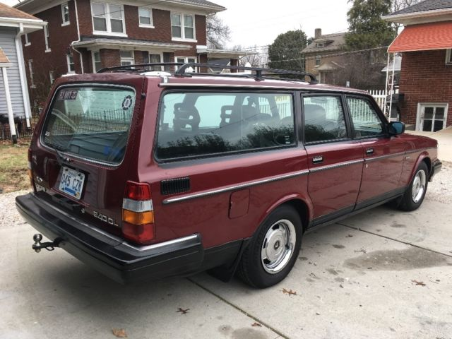1989 volvo 240 wagon 245 classic volvo 240 1989 for sale. Black Bedroom Furniture Sets. Home Design Ideas