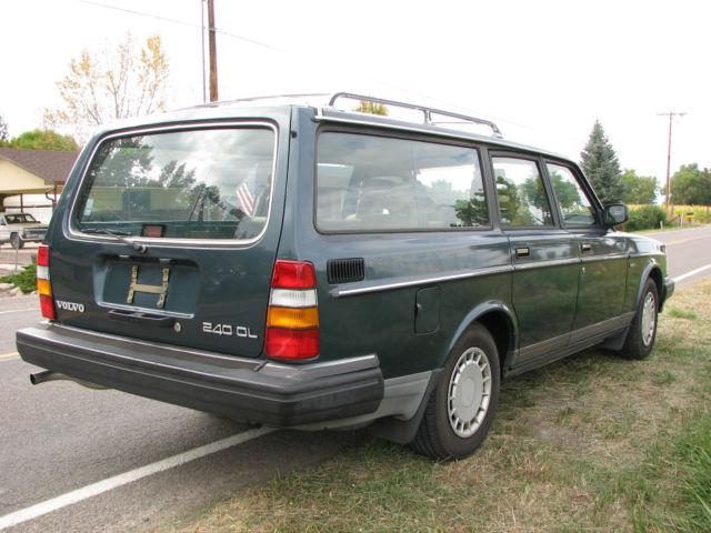 1989 Volvo 240 Wagon Body & Interior Excellent, Third Seat, Center Armrest, Etc - Classic Volvo ...