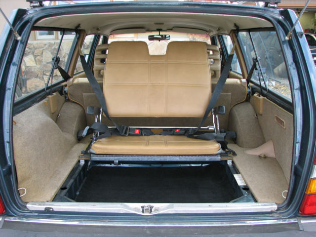 1989 Volvo 240 Wagon Body & Interior Excellent, Third Seat, Center Armrest, Etc - Classic Volvo ...