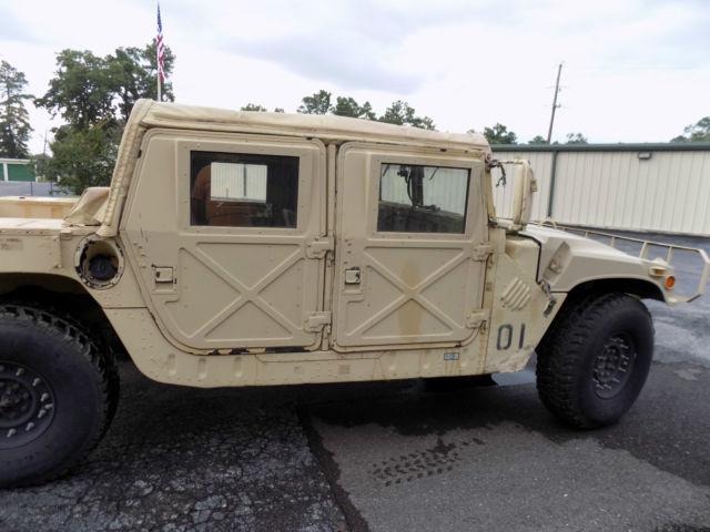 1990 Am General M998 Humvee Hmmwv Hummer H1 Desert Sand