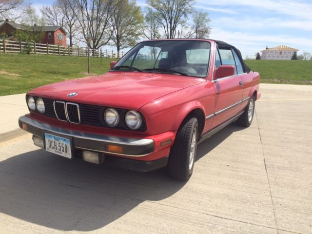 Bmw 6 Series Portland >> 1990 BMW 325i Convertible E30 325ic Heated Sport Seats Manual - Classic BMW 3-Series 1990 for sale