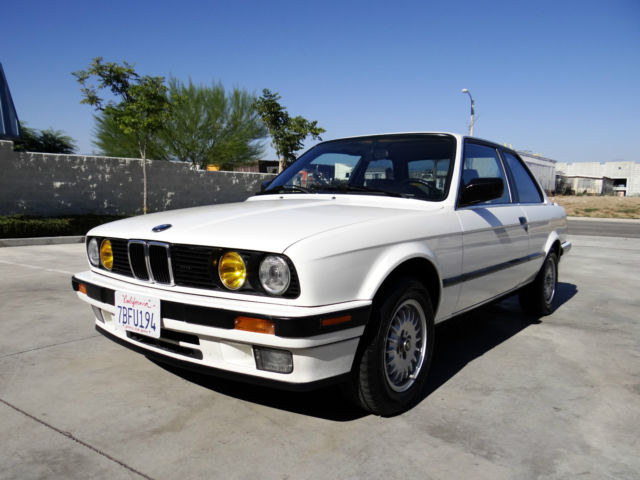 1990 Bmw 325i E30 2 Door Coupe White Classic Bmw 3 Series 1990 For Sale