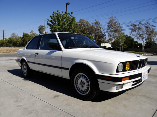 1990 Bmw 325i E30 2 Door Coupe White Classic Bmw 3