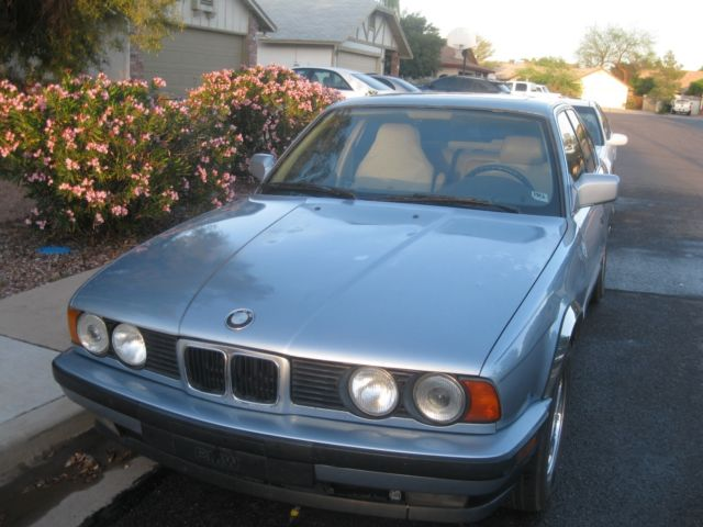 1990 bmw 535i fully loaded sunroof baby blue classic bmw. Black Bedroom Furniture Sets. Home Design Ideas