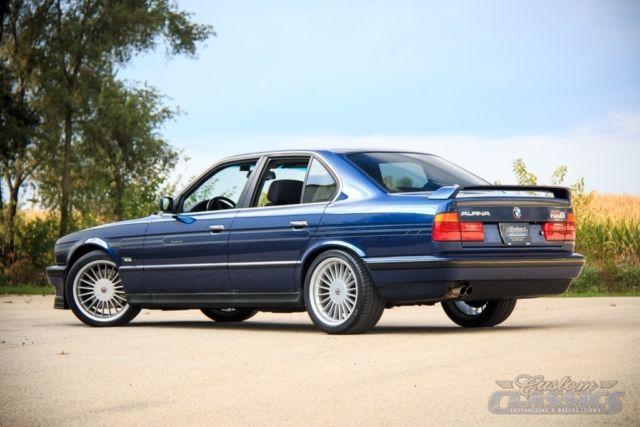 1990 BMW ALPINA B10 Bi-Turbo E34, Ultra Rare, Manual Trans, Twin ...