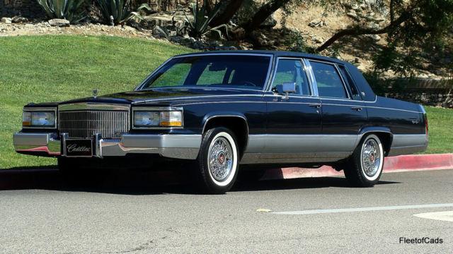 1990 cadillac brougham d 39 elegance 5 7 v8 with 62k miles. Black Bedroom Furniture Sets. Home Design Ideas