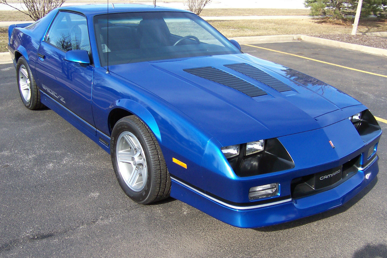 1990 chevrolet camaro iroc 1le 5 7l 350ci 1 of 28 built only 2k original miles classic. Black Bedroom Furniture Sets. Home Design Ideas