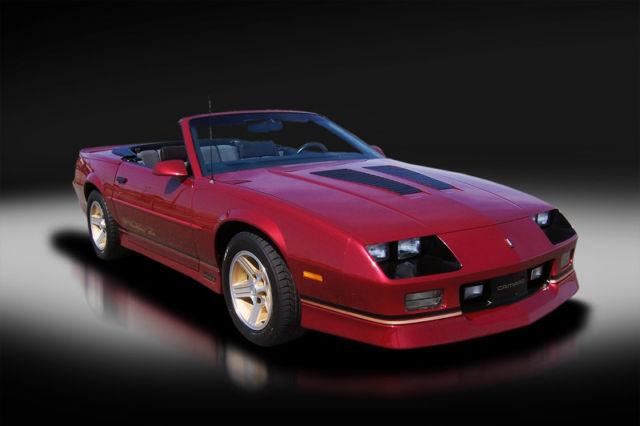 1990 Chevrolet Camaro Iroc-Z Convertible w/ 3,500 miles  Not