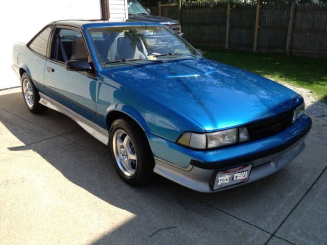 Classic Chevy Mentor >> 1990 Chevrolet Cavalier Z24 Coupe 3.1 v6 5 speed - Classic ...