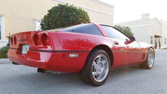 1990 CHEVROLET CORVETTE C4 L98 67888 MILES FL CLEAN CARFAX