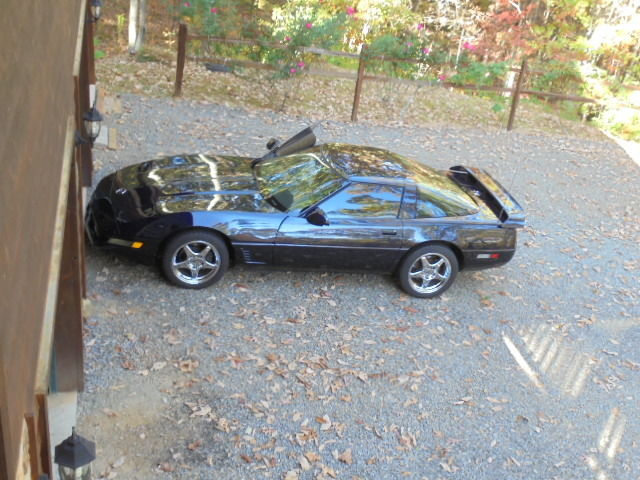 1990 Chevrolet Corvette Greenwood Edition With Removable Hard Top