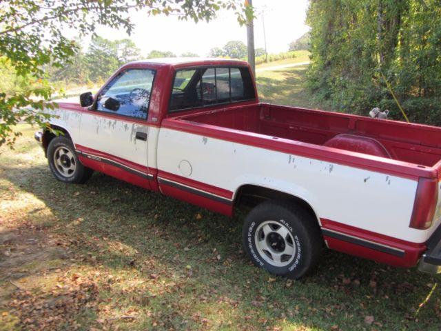 1990 chevrolet silverado c k1500 chevy pickup truck reg cab long bed 5 7l v8 350 classic. Black Bedroom Furniture Sets. Home Design Ideas