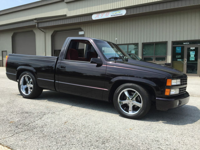 Chevy 454 Ss Truck For Sale >> 1990 Chevy 454 SS Pick-Up - Low Miles - Custom - Classic