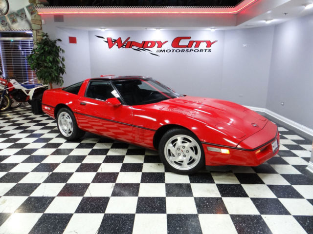 1990 Chevy Corvette Coupe 2 Owners Only 59k Miles