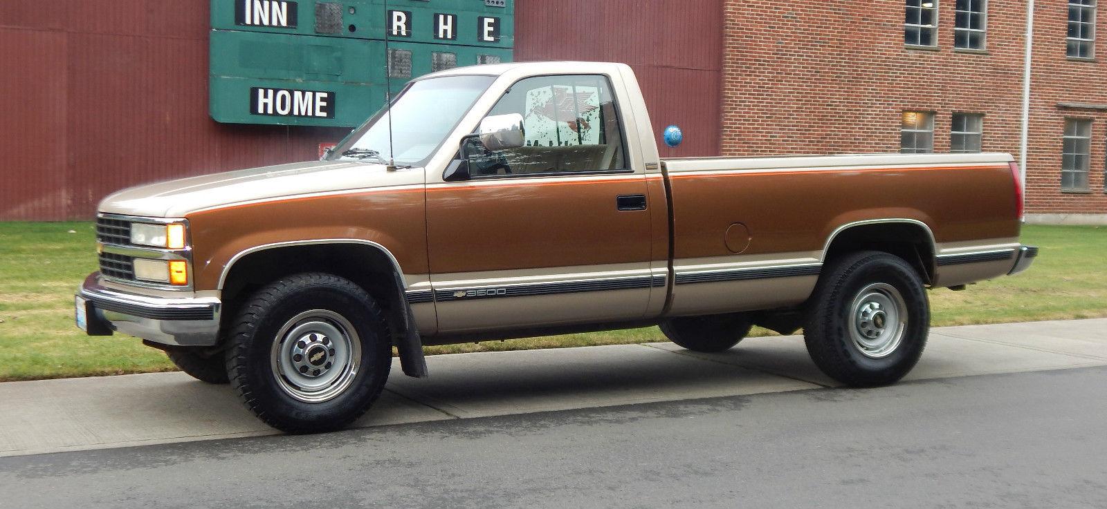 1990 Chevy Pickup Truck 40k Original Miles 1 Ton 454 No