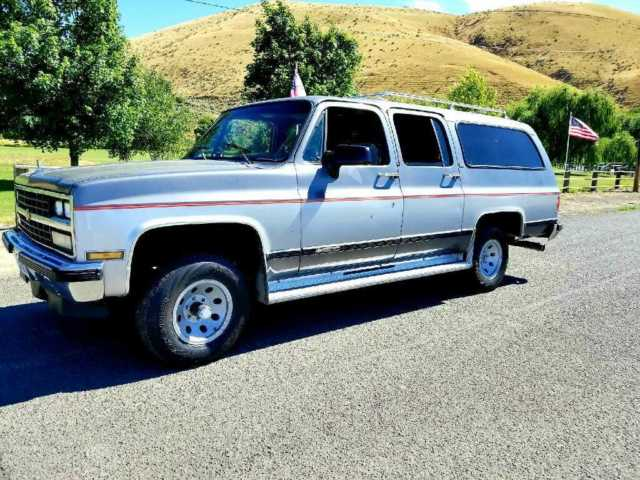 Chevrolet Suburban San Diego >> 1990 chevy suburban 4x4 - Classic Chevrolet Suburban 1990 for sale