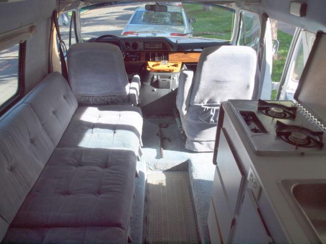 Rv Propane Stove >> 1990 Dodge B250 Xplorer RV - Classic Dodge Other 1990 for sale