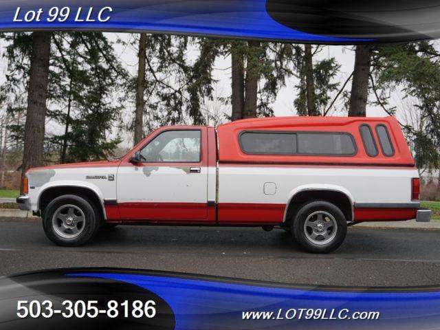 Used Tires Portland >> 1990 Dodge Dakota SE 46 Service Records Truck Automatic 2 ...