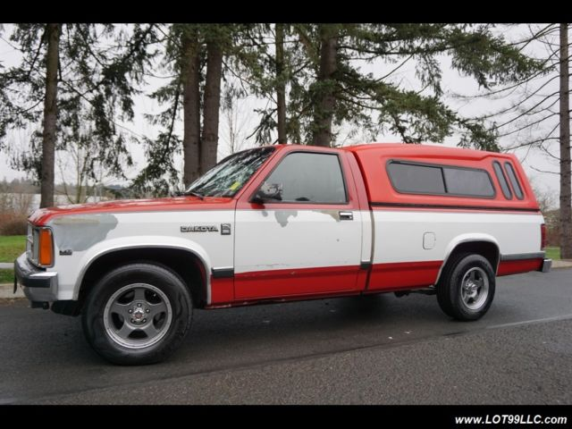 1990 Dodge Dakota Se 46 Service Records Truck Automatic 2