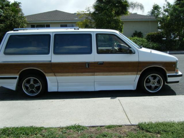 1990 Dodge Grand Caravan Wheelchair Accessible Van