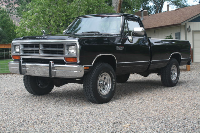 Used Cars Grand Junction Co >> 1990 Dodge W 350 Regular Cab LE Longbed SRW 4x4 5.9 12 ...