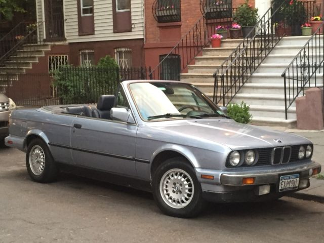 1990 e30 bmw 3 series convertible in glacier blue classic bmw 3 series 1990 for sale. Black Bedroom Furniture Sets. Home Design Ideas