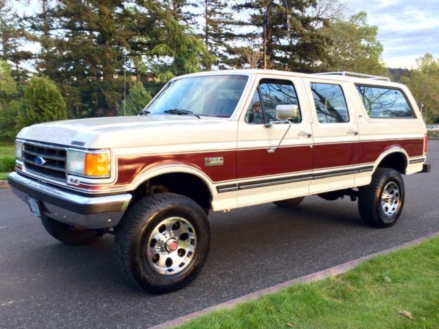 1990 Ford Bronco Centurion C 350 Xlt Lariat Crewcab