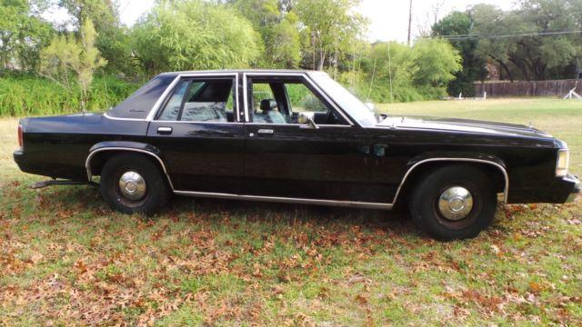 Cars For Sale San Antonio >> 1990 FORD CROWN VICTORIA POLICE PACKAGE CAR, FBI. MEN IN ...
