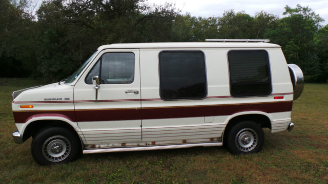 1990 Ford Econoline Conversion Van  Mint Original With 33k