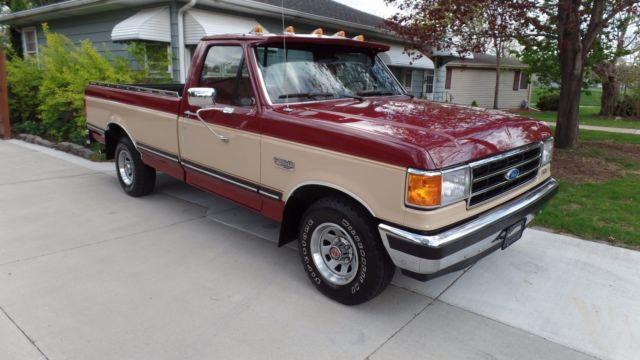 1990 ford f150 1 2 ton pickup xlt lariat truck classic ford f 150 1990 for sale. Black Bedroom Furniture Sets. Home Design Ideas