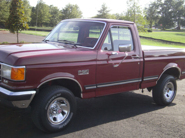 1990 ford f150 reg cab short bed xlt 5 0 automatic all power very nice 1 owner classic ford f. Black Bedroom Furniture Sets. Home Design Ideas