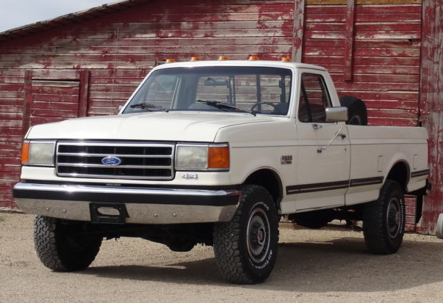 1990 Ford F150 Xlt Lariat >> 1990 Ford F250 XLT Lariat, 4x4, 1 Owner. All original ...