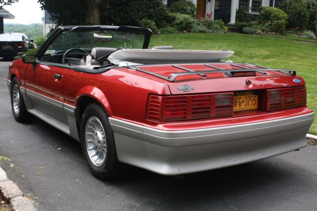 1990 ford mustang 5 0 convertible fox body 14k original miles clear title classic ford mustang. Black Bedroom Furniture Sets. Home Design Ideas