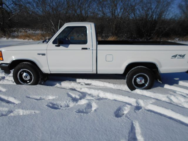 1990 ford ranger 4x4 pickup truck act miles. Black Bedroom Furniture Sets. Home Design Ideas