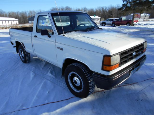 1990 ford ranger 4x4 pickup truck act miles very well kept classic ford other. Black Bedroom Furniture Sets. Home Design Ideas